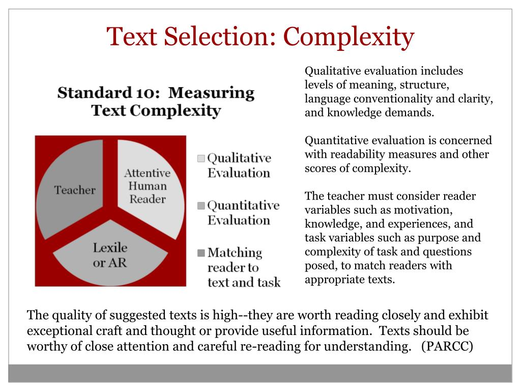 Text Selection: Complexity