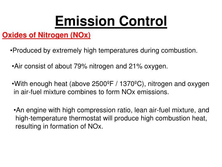 Emission control3