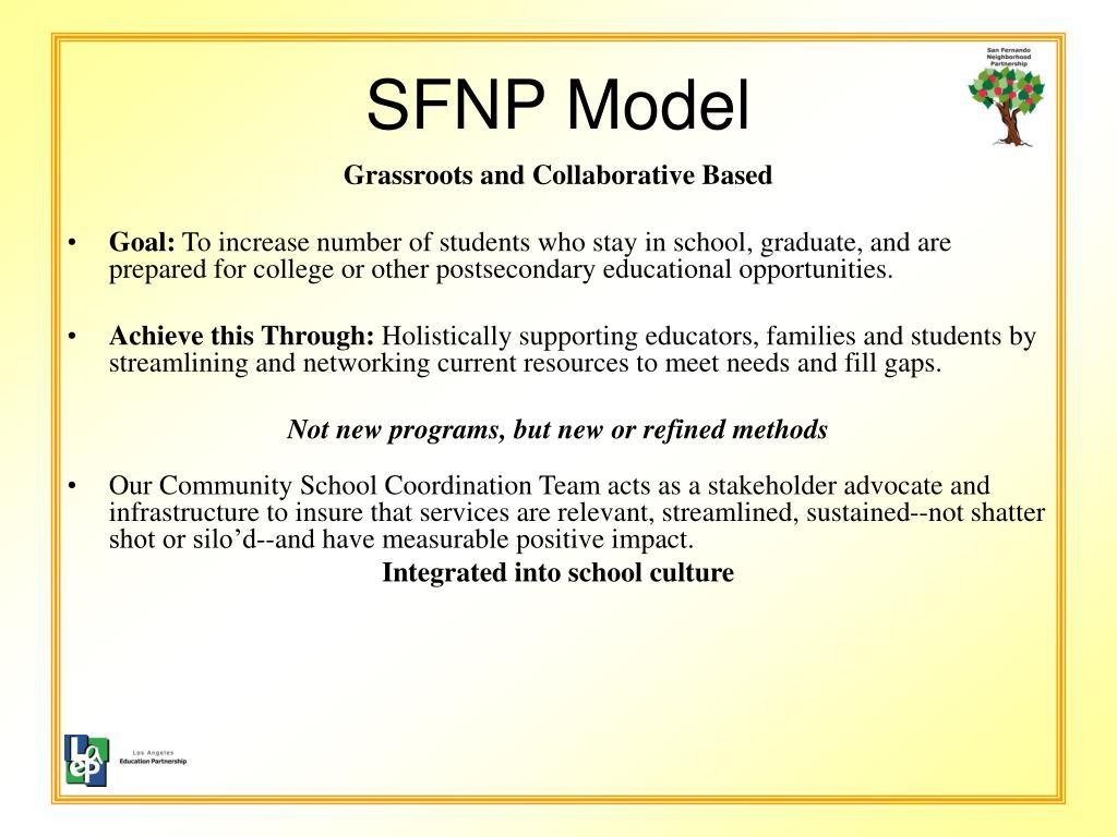 SFNP Model