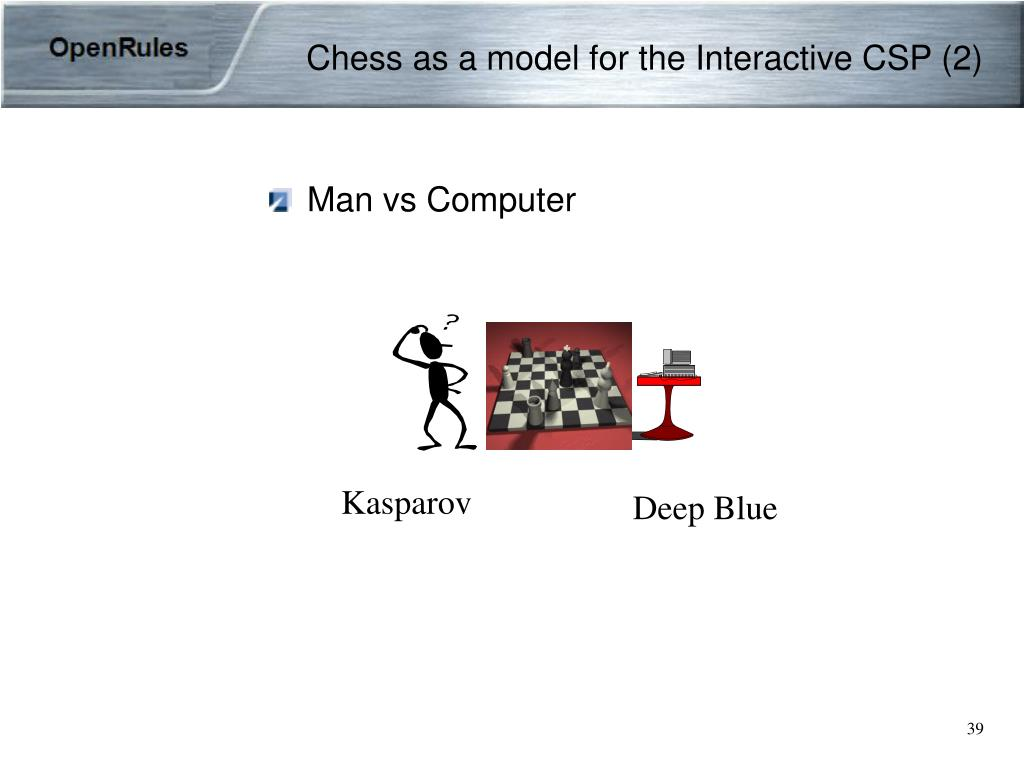 Chess as a model for the Interactive CSP (2)