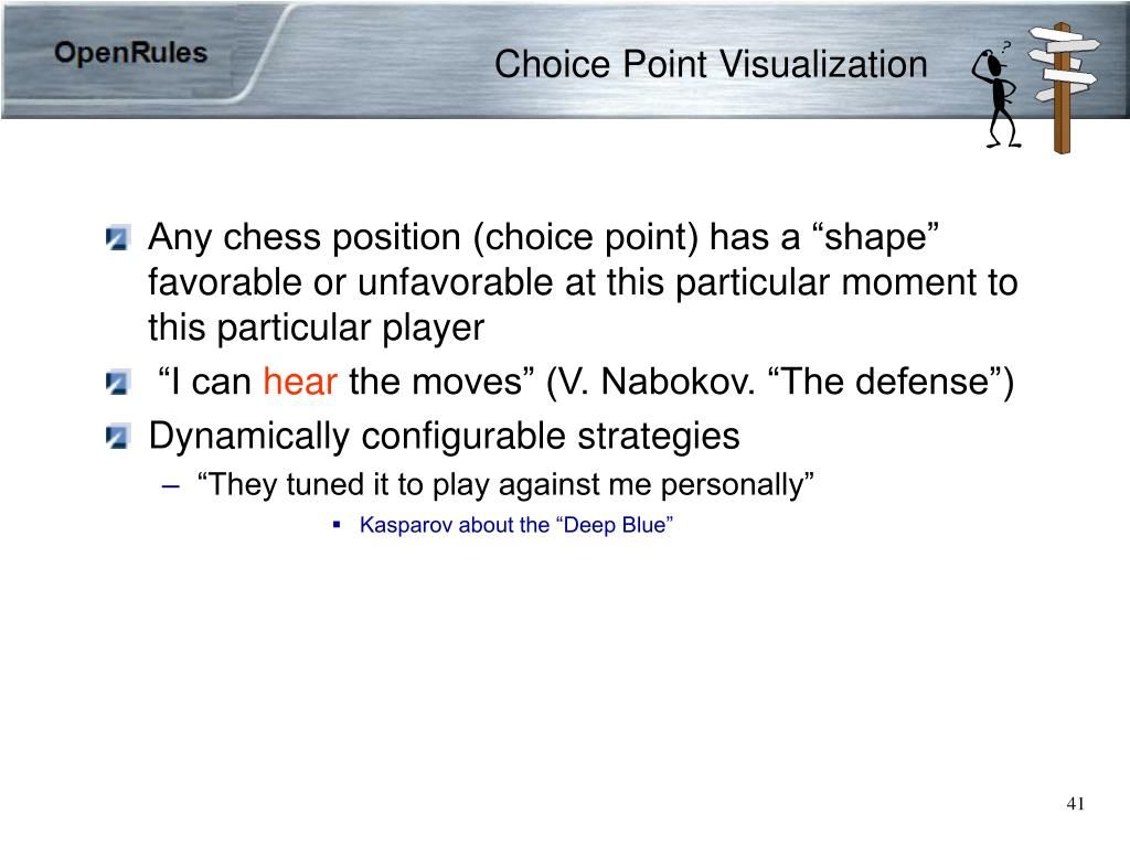Choice Point Visualization