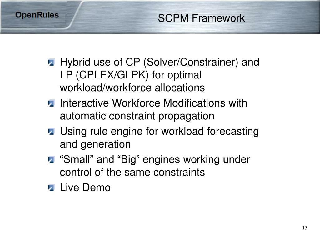 SCPM Framework