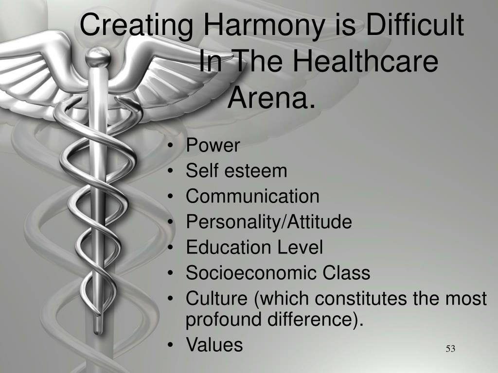 Creating Harmony is Difficult