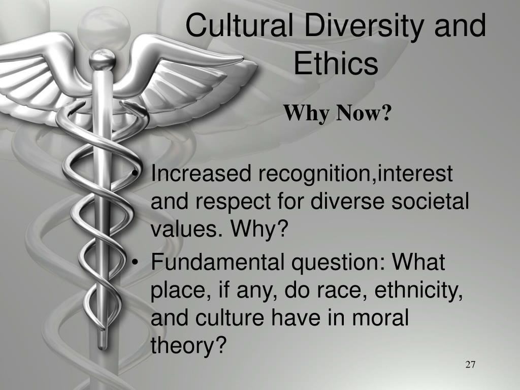 Cultural Diversity and Ethics