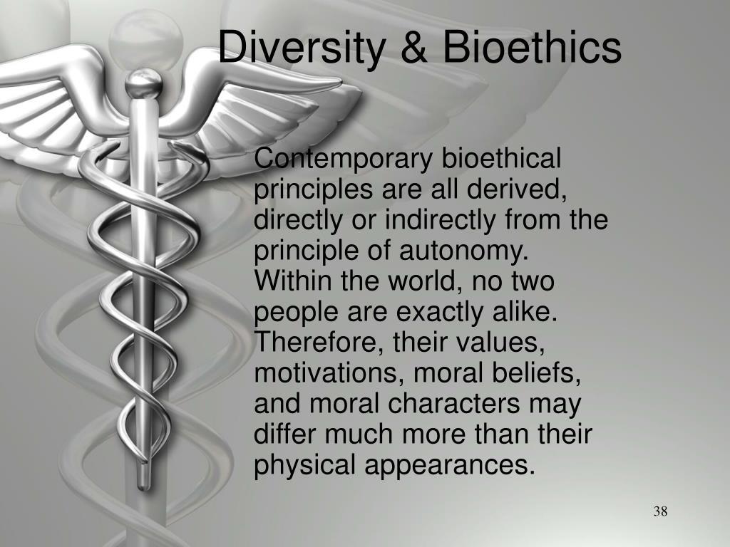 Diversity & Bioethics