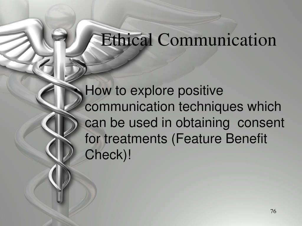 Ethical Communication