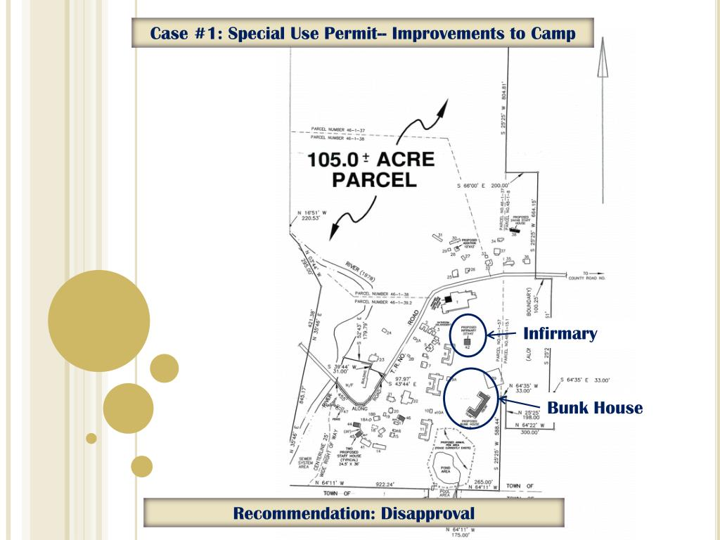 Case #1: Special Use Permit-- Improvements to Camp