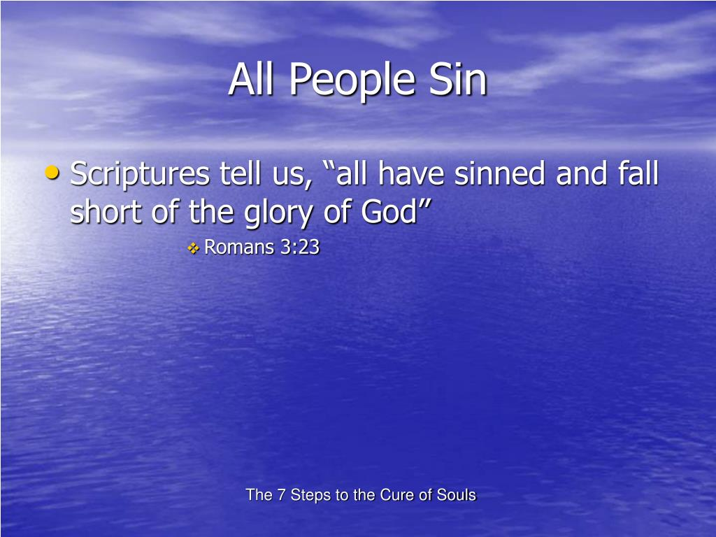 All People Sin