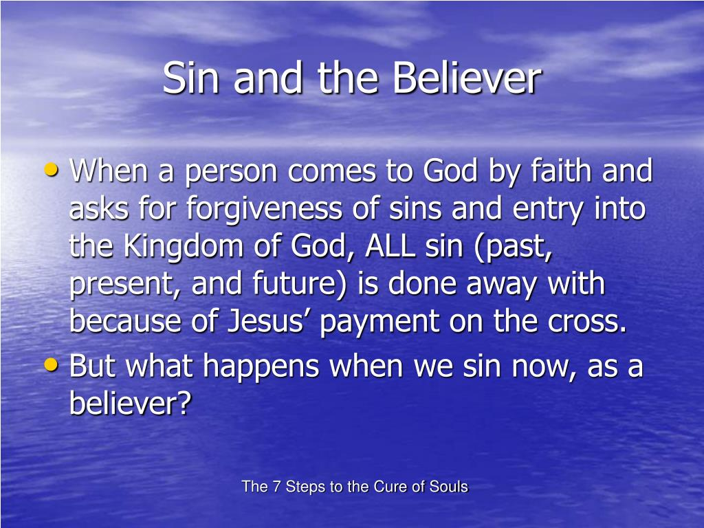Sin and the Believer