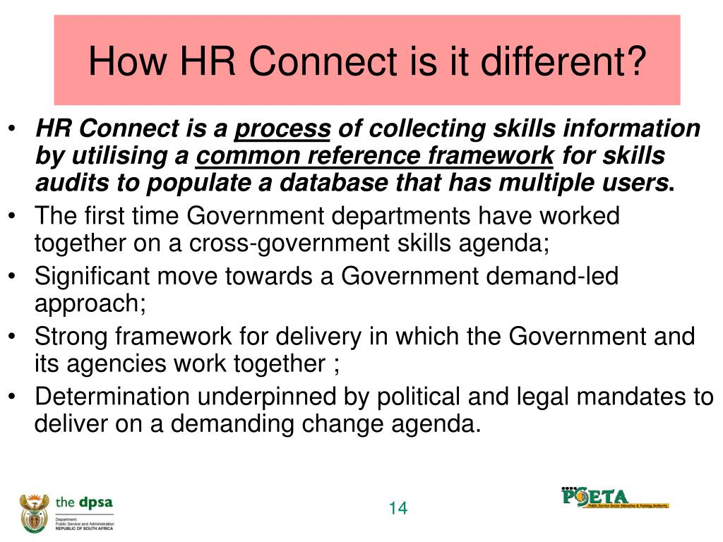 How HR Connect is it different?