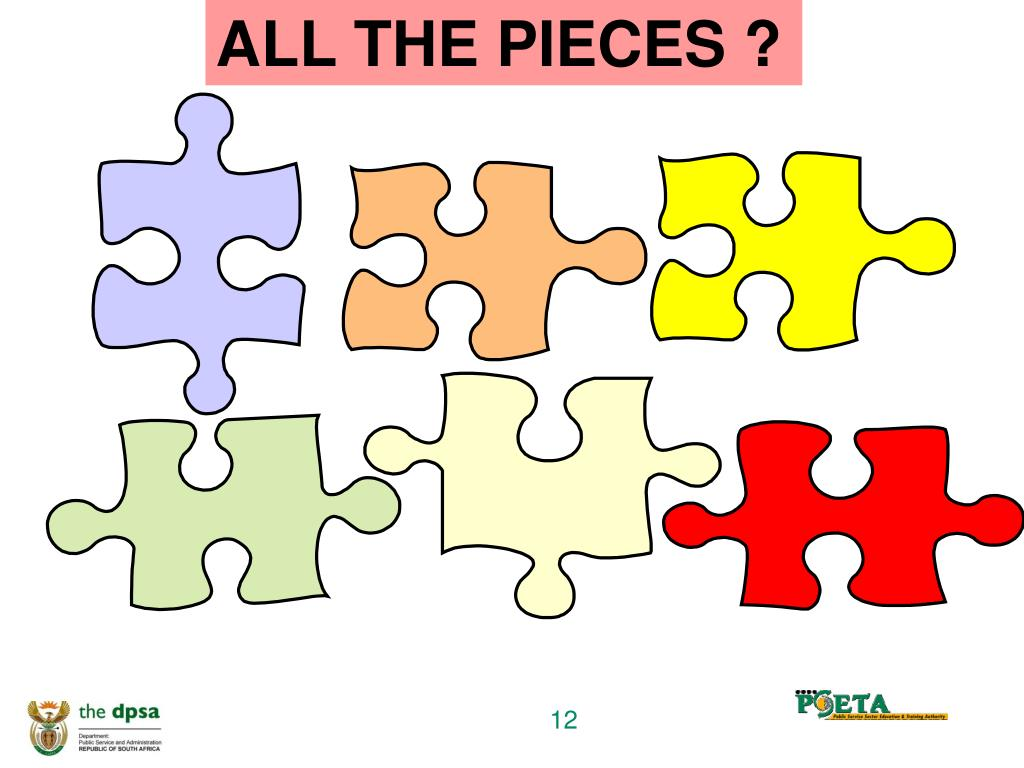 ALL THE PIECES ?