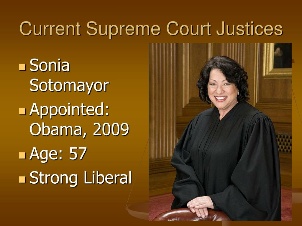 Current Supreme Court Justices