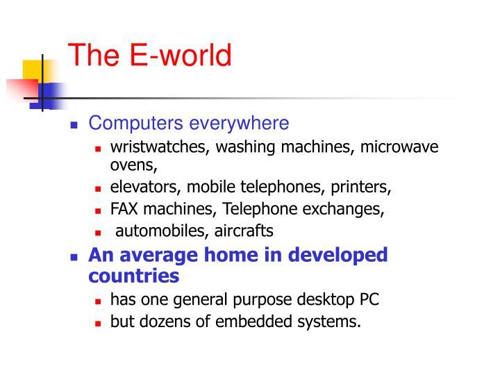 The e world