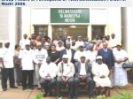 group picture of participants of tika sensitization forum in moshi 2006