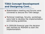 tika concept development and designing cont