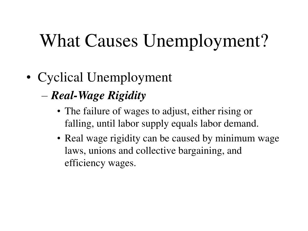 What Causes Unemployment?