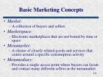 basic marketing concepts6