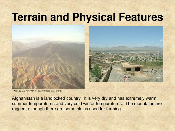 Terrain and Physical Features