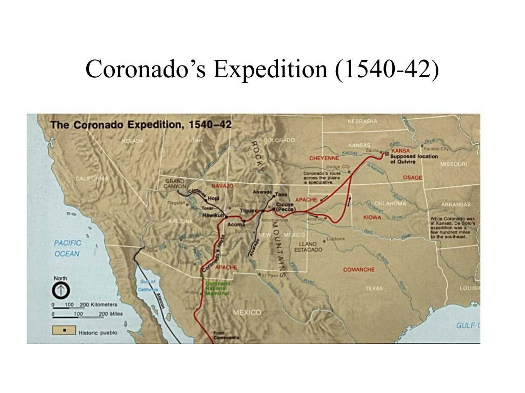 Coronado's Expedition (1540-42)