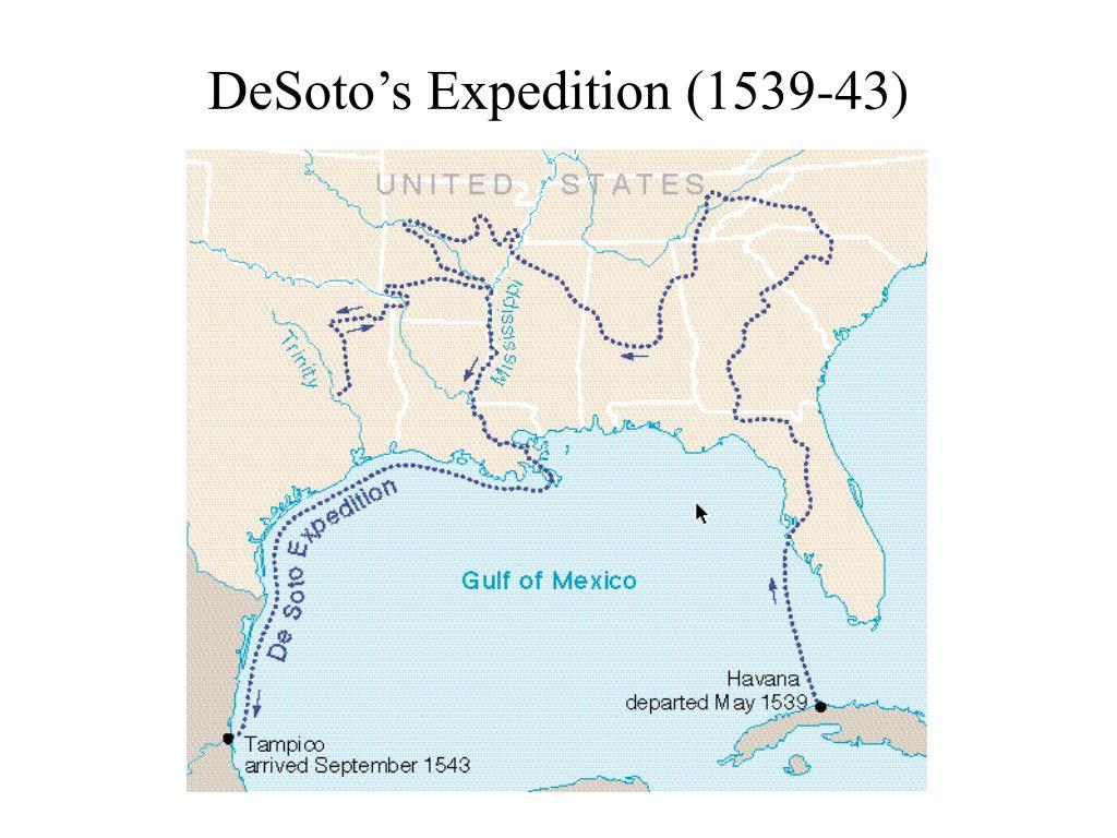 DeSoto's Expedition (1539-43)
