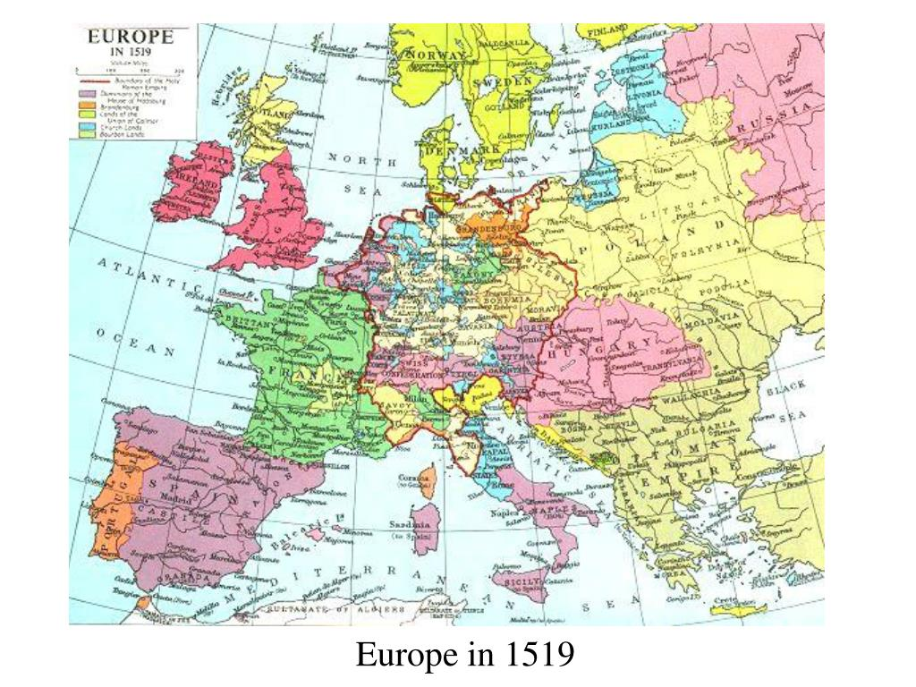 Europe in 1519