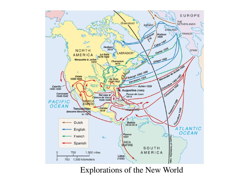 Explorations of the New World