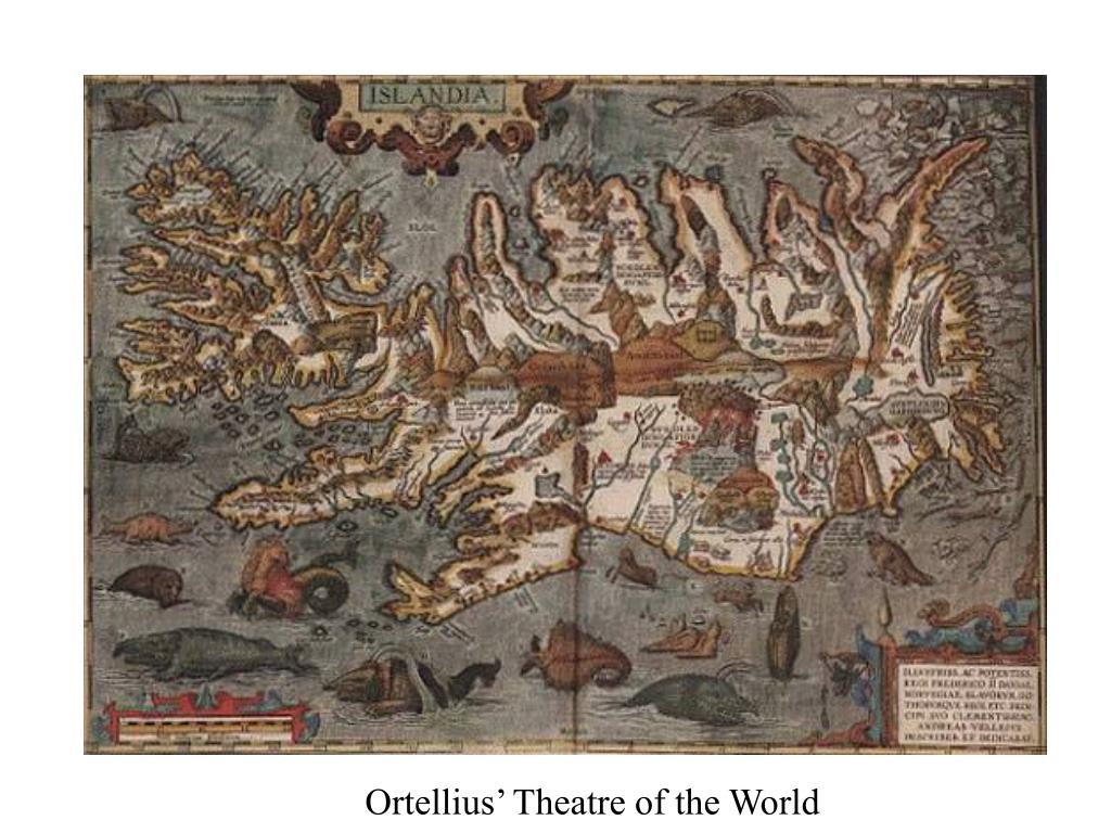 Ortellius' Theatre of the World