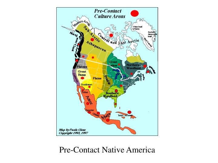Pre contact native america