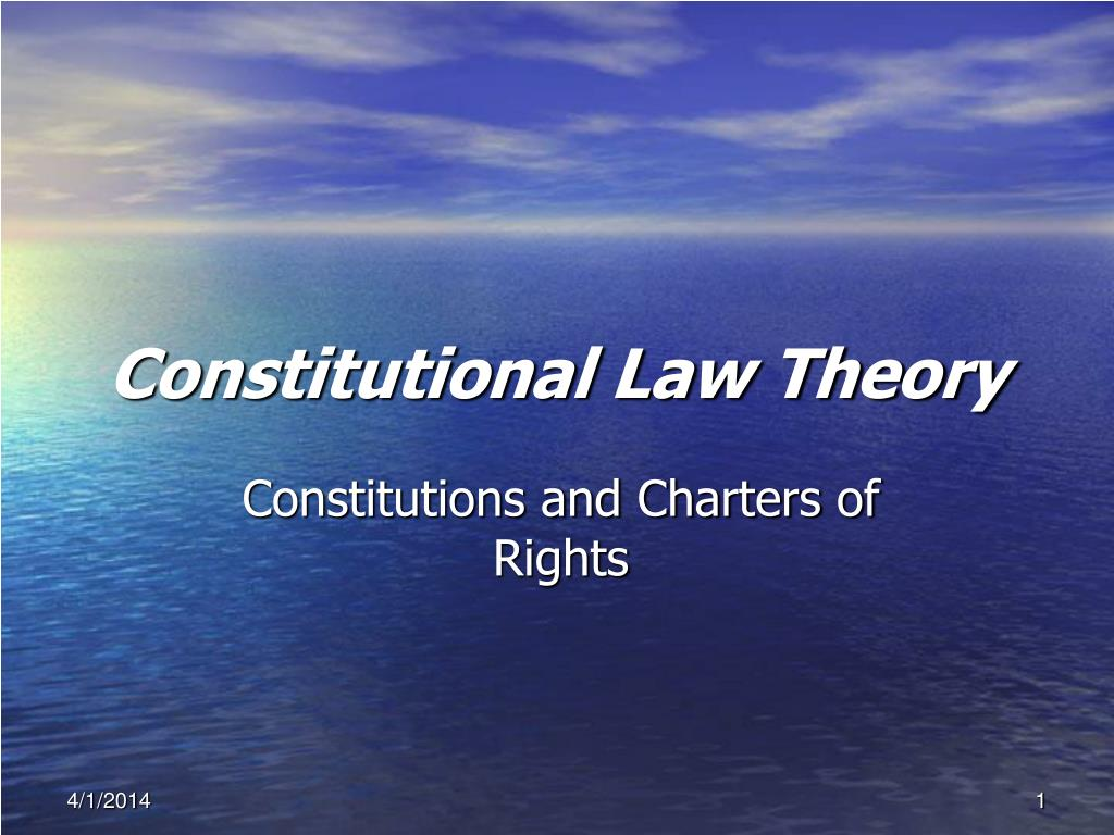 constitutional law theory