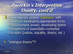 dworkin s interpretive theory cont d42