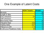 one example of latent costs