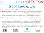 epsdt services cont