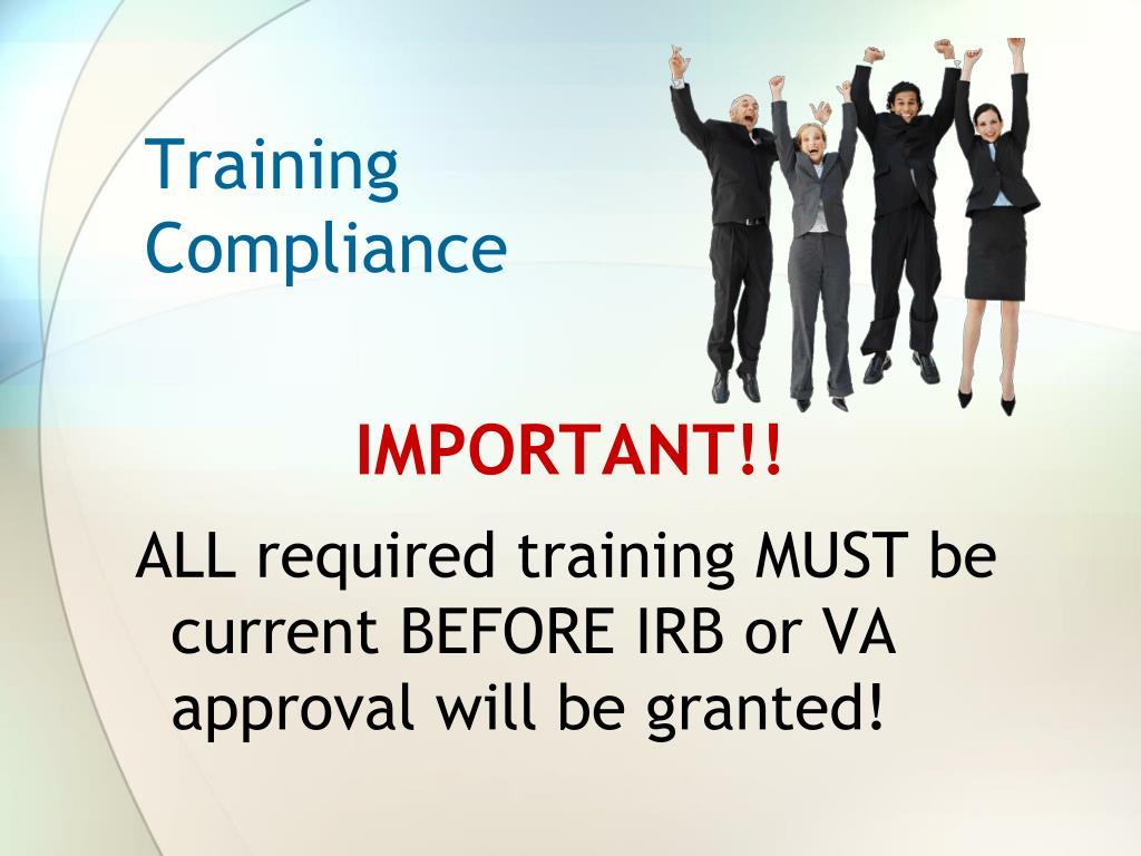 Training Compliance