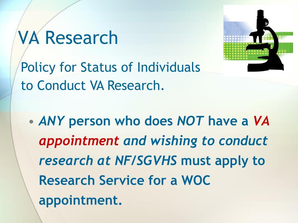 VA Research