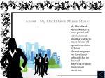 about my blackhawk mines music