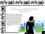 delicious com my black hawk mines music