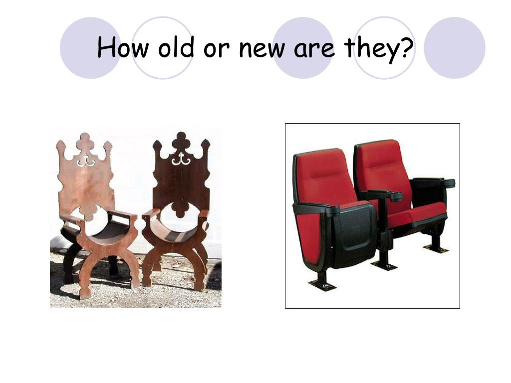 How old or new are they?