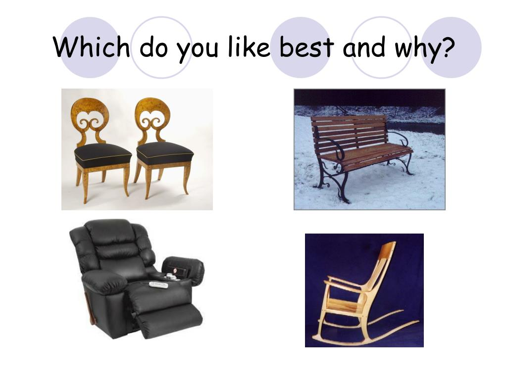 Which do you like best and why?
