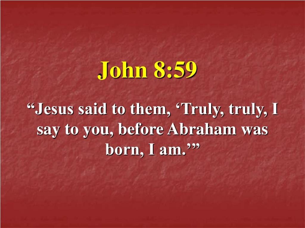 John 8:59