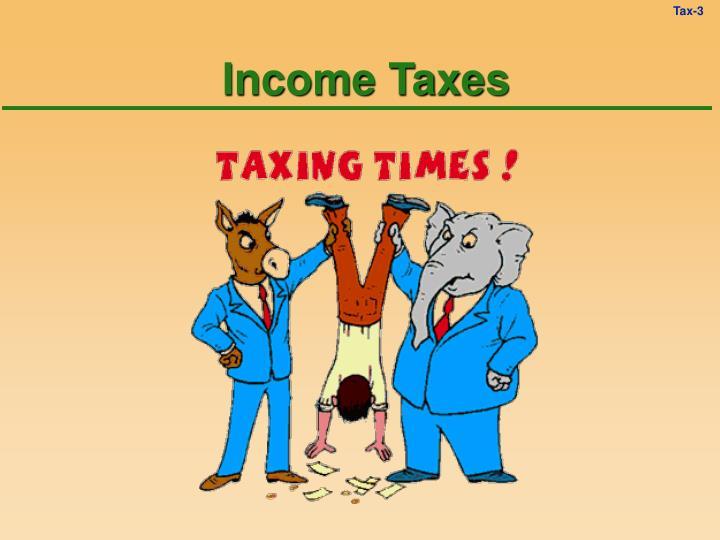 Income taxes3