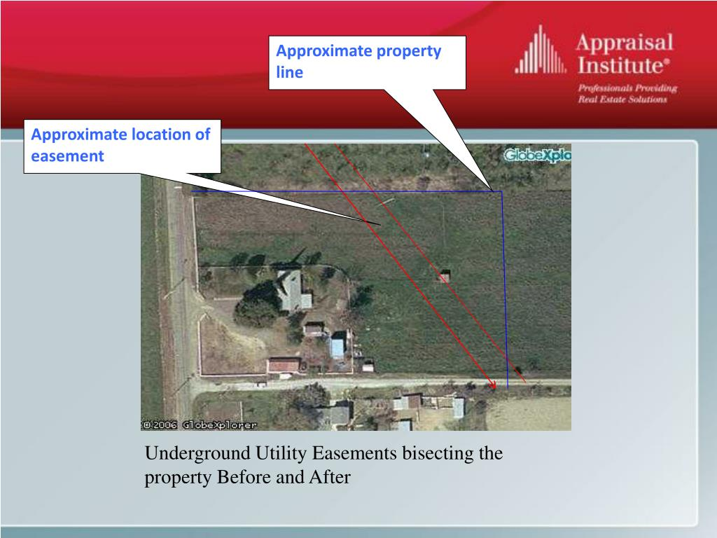 Approximate property line