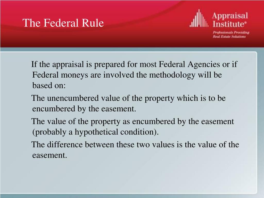 The Federal Rule