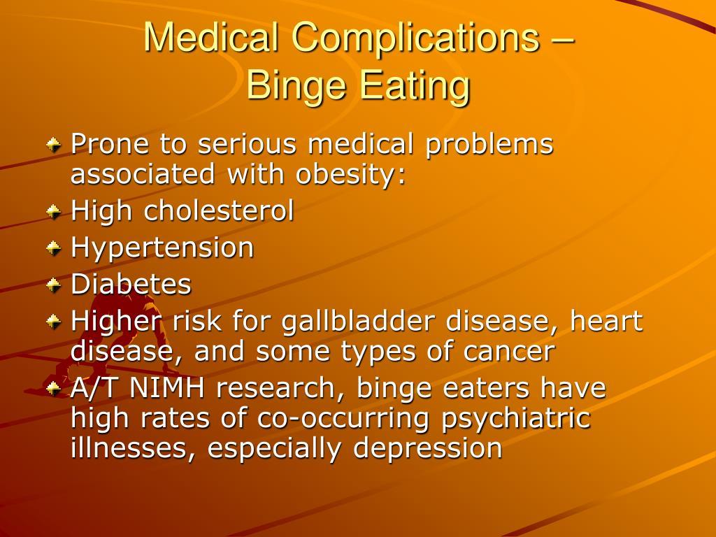 Medical Complications –