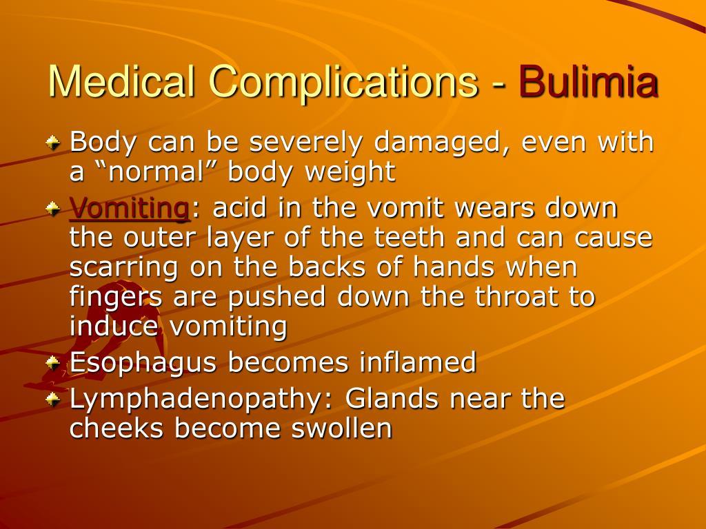 Medical Complications -