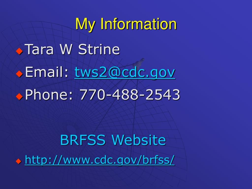 My Information