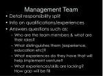 management team18