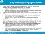 key findings engaged alums