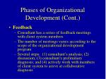 phases of organizational development cont43