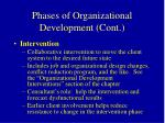 phases of organizational development cont45