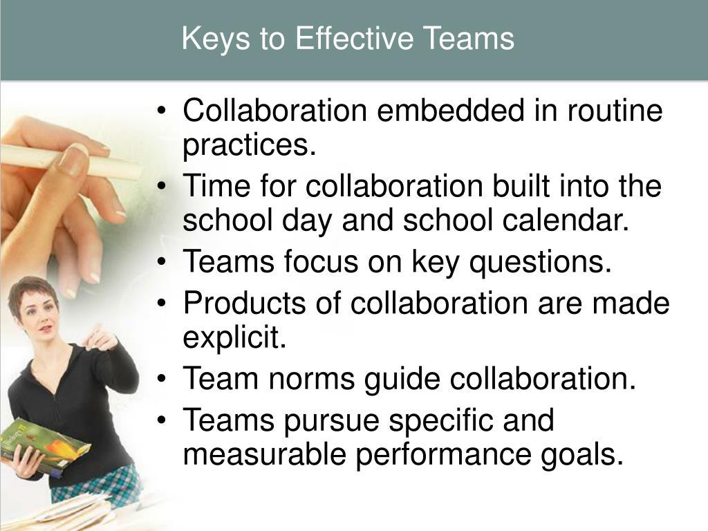 Keys to Effective Teams